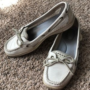 Sperry Mesh Angelfish Slip On Boat Shoes